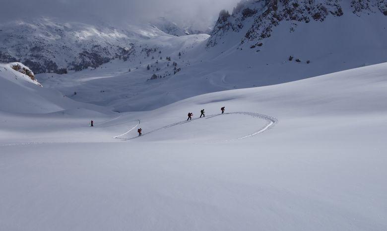 Initiation au ski de randonnée dans les Cerces-8