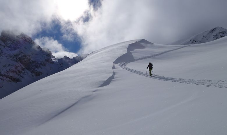 Initiation au ski de randonnée dans les Cerces-2