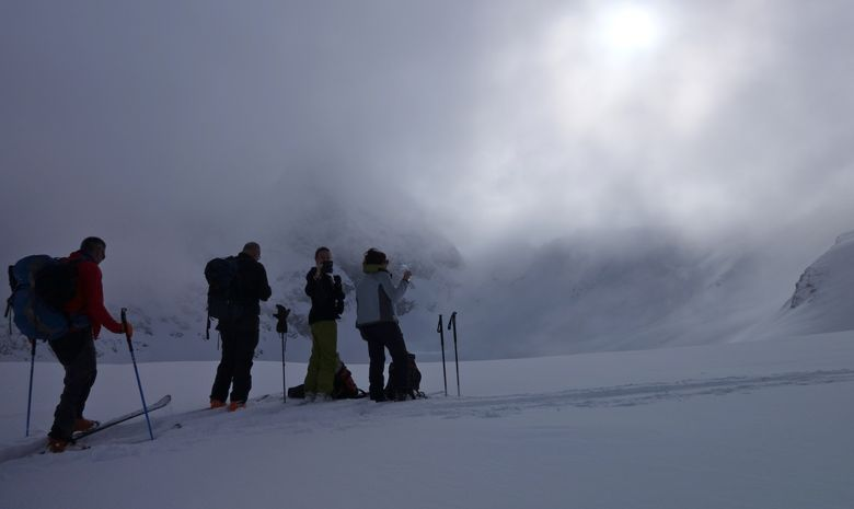 Initiation au ski de randonnée dans les Cerces-4
