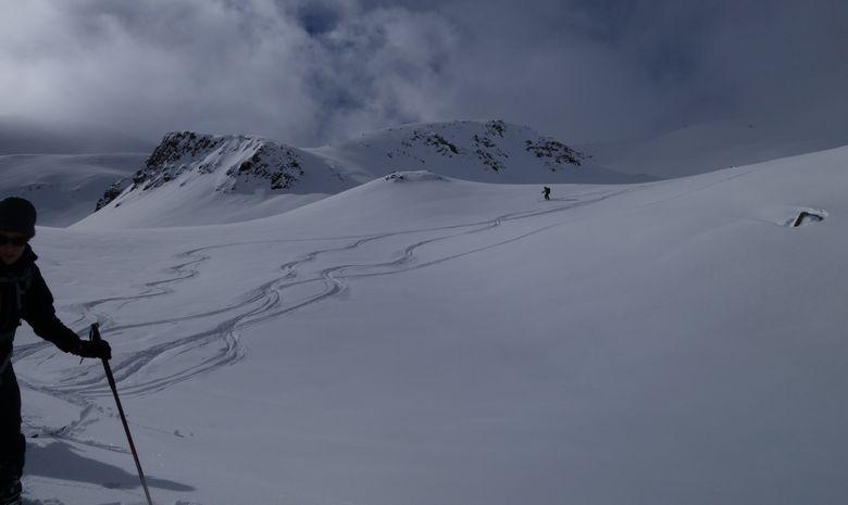 Initiation au ski de randonnée dans les Cerces-5