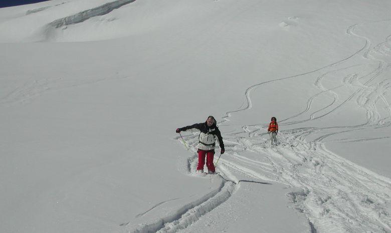 Mont blanc skis aux pieds!-3