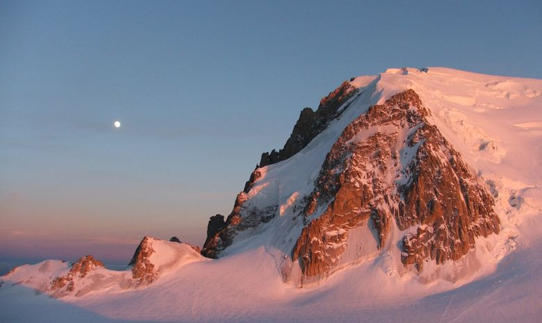 Mont blanc skis aux pieds!-1