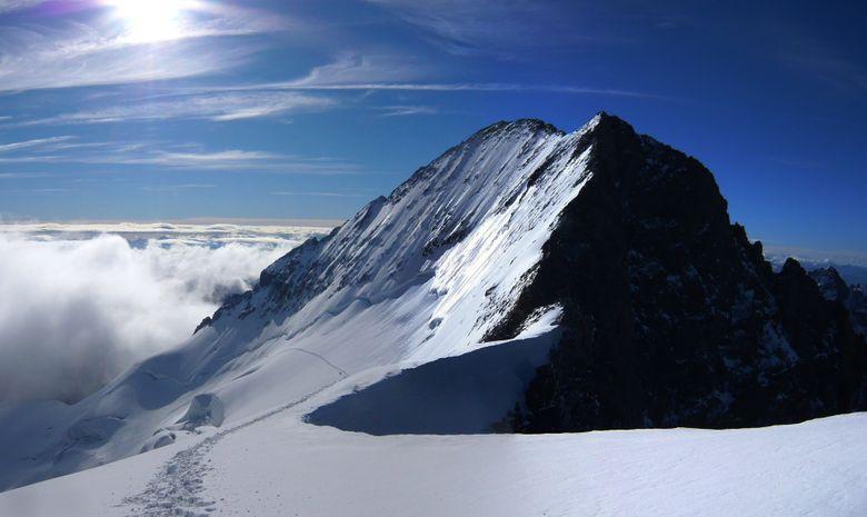 Ascension du Dôme des Ecrins à skis