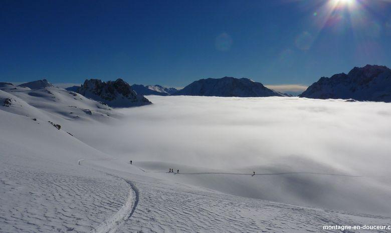 Initiation ski de randonnée dans le Queyras-6