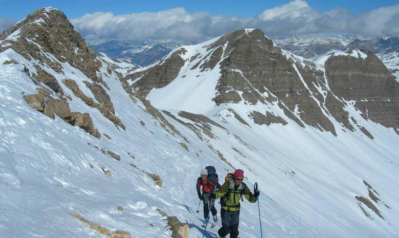 Initiation ski de randonnée dans le Queyras-3