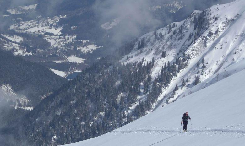 Initiation ski de randonnée dans le Queyras-1
