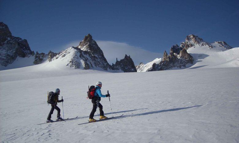 Initiation ski de randonnée dans le Queyras-2