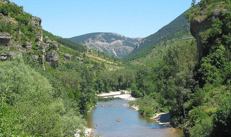 Descente des Gorges du Tarn en canoë -4