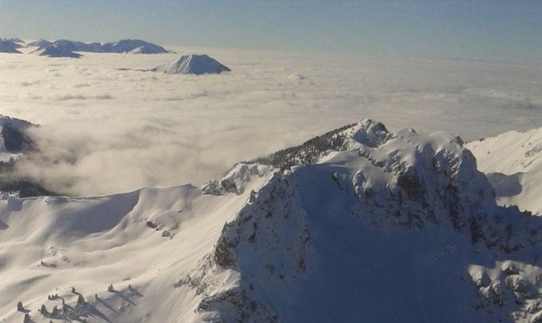 Ski de couloir dans le Massif du Chablais-3