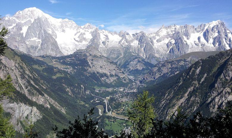Tour du Mont-Blanc en trek - 7 jours-7