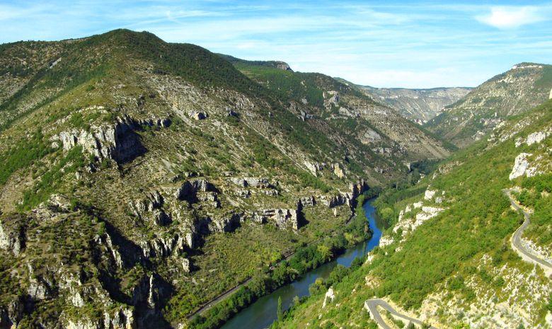 Initiation à l'escalade dans les Gorges du Tarn-3