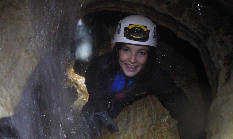 Spéléo : la rivière souterraine de Tantayrou