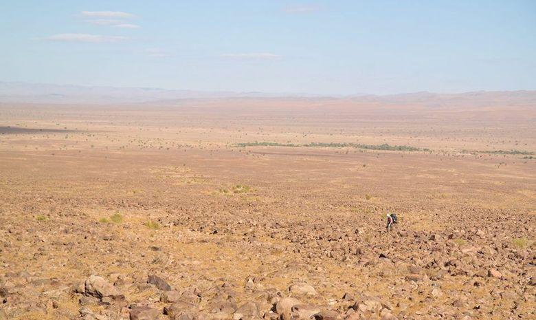 Stage spécial désert au coeur d'un reportage télé-7
