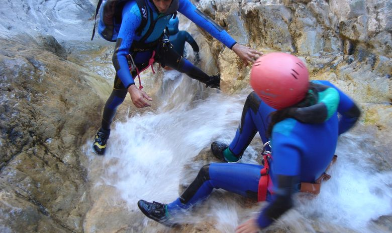 Stage 5 jours canyoning en Corse-4
