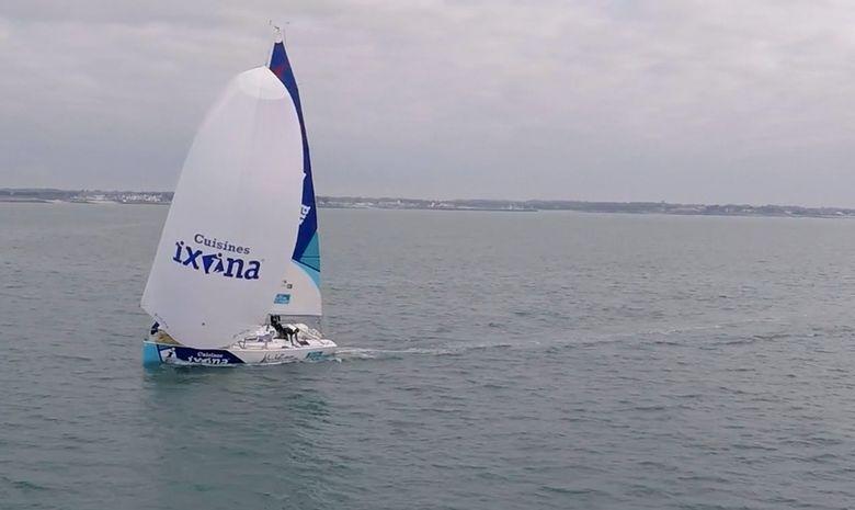 Journée en mer à bord d'un Figaro Bénéteau-2