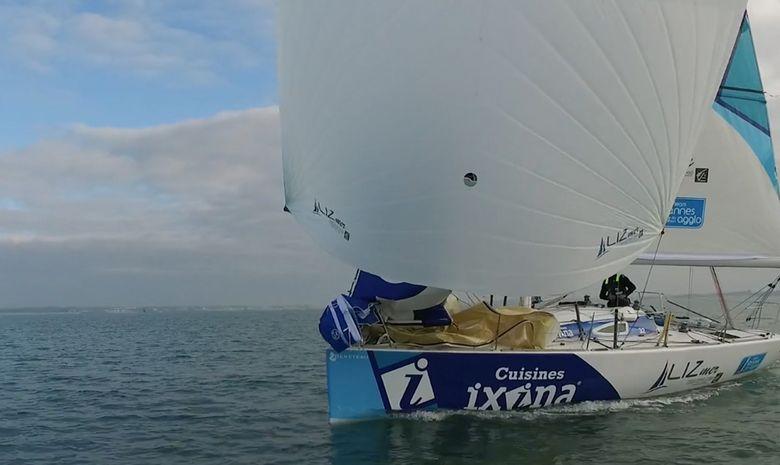 Journée en mer à bord d'un Figaro Bénéteau-1
