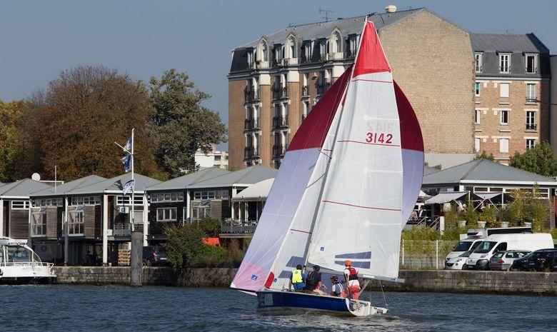 Initiation à la voile : SB20 sur la Seine-3