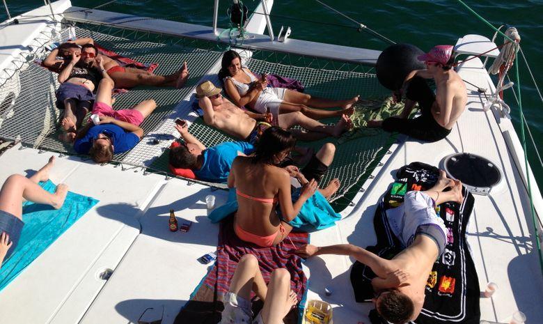 Demi-journée en mer à bord d'un voilier -3
