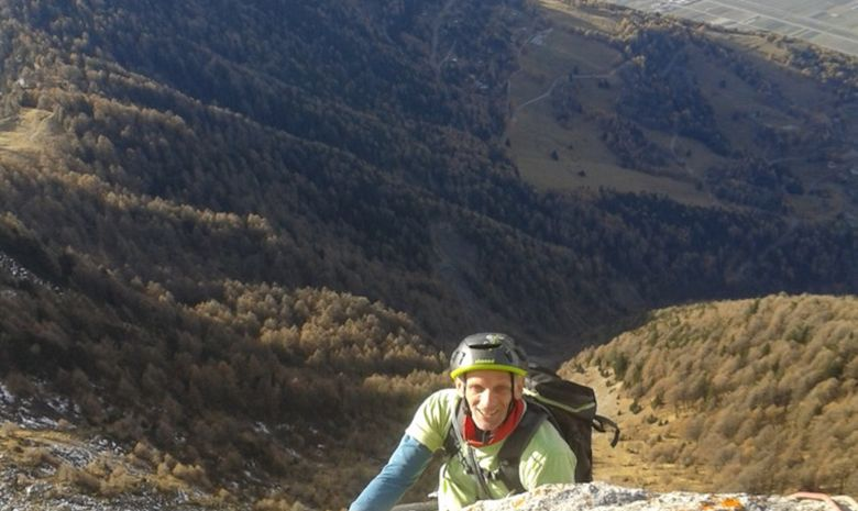 Stage d'escalade en Grandes Voies dans le Chablais-8