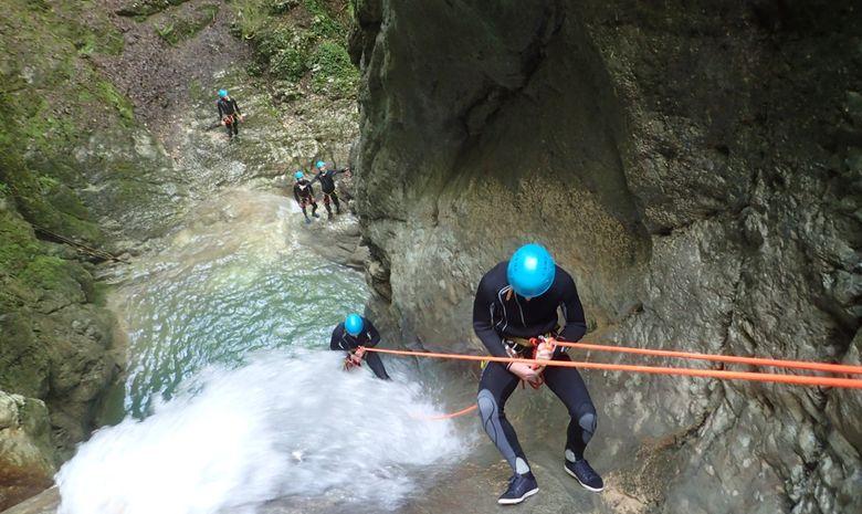 Le Canyon du Versoud : le paradis du rappel-5