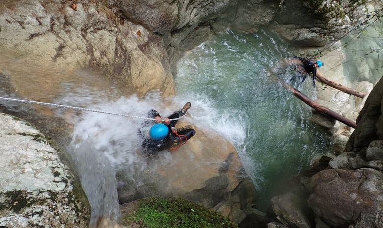Le Canyon du Versoud : le paradis du rappel-7