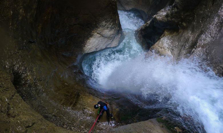 La perle du Vercors : Canyon des Ecouges -5