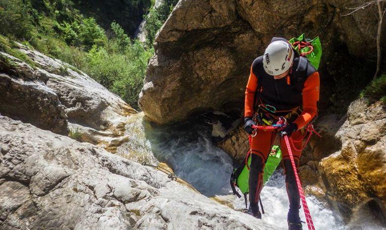 La perle du Vercors : Canyon des Ecouges -6
