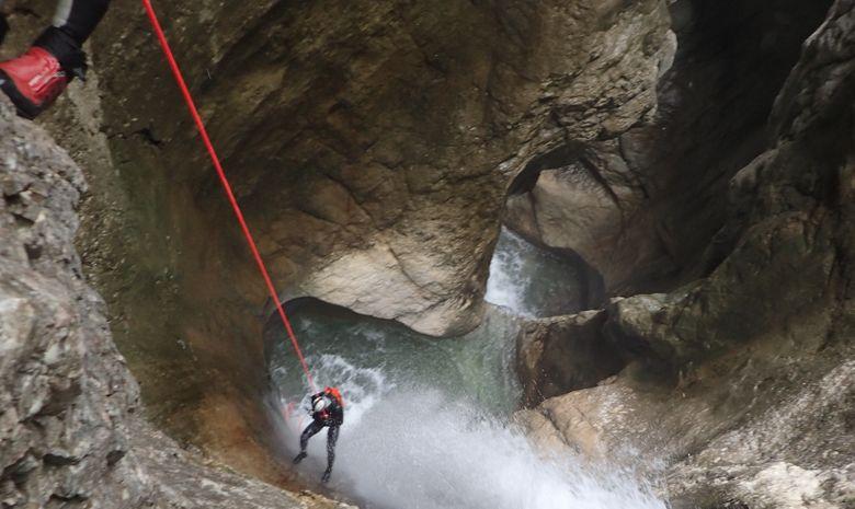La perle du Vercors : Canyon des Ecouges -7