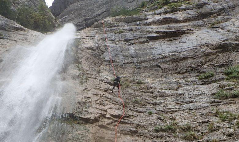 La perle du Vercors : Canyon des Ecouges -10