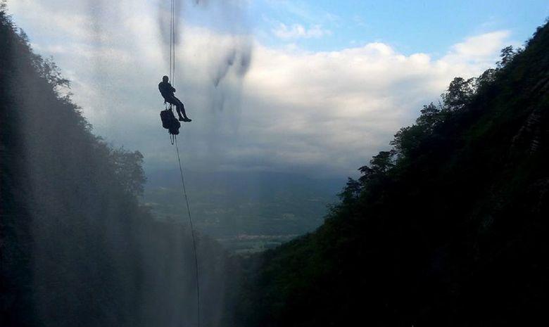 Canyon extrême en Chartreuse : Gorgette & Craponoz-4