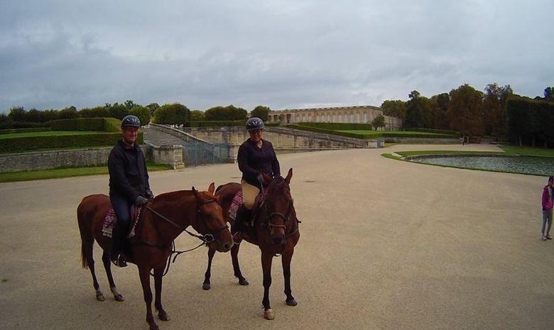 Balade à cheval dans le Parc de Versailles-5