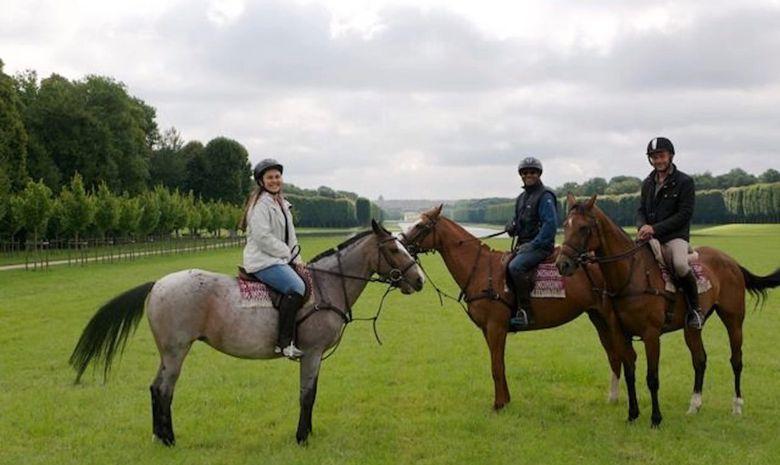 Balade à cheval dans le Parc de Versailles-7