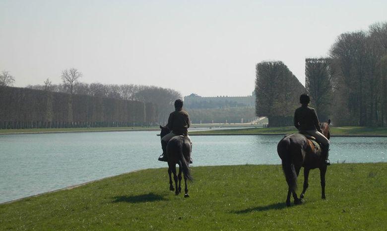 Balade à cheval dans le Parc de Versailles-6