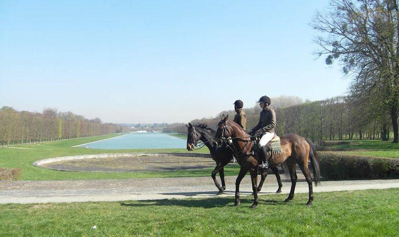 Balade à cheval dans le Parc de Versailles-4