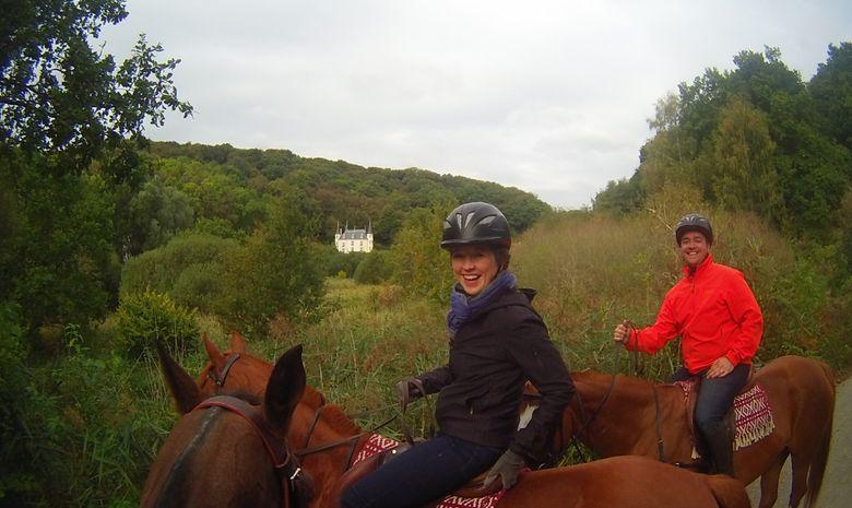 Balade à cheval dans la Vallée de Chevreuse-3