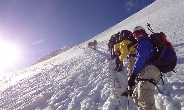 Dôme des Écrins 4015 mètres-5