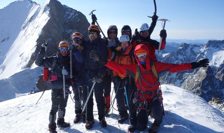 Dôme des Écrins 4015 mètres-4