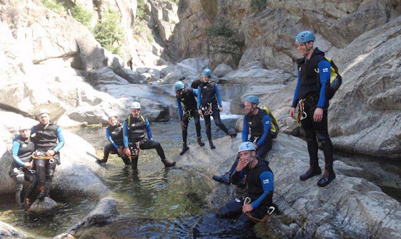 Descente intégrale du canyon du haut Chassezac-5