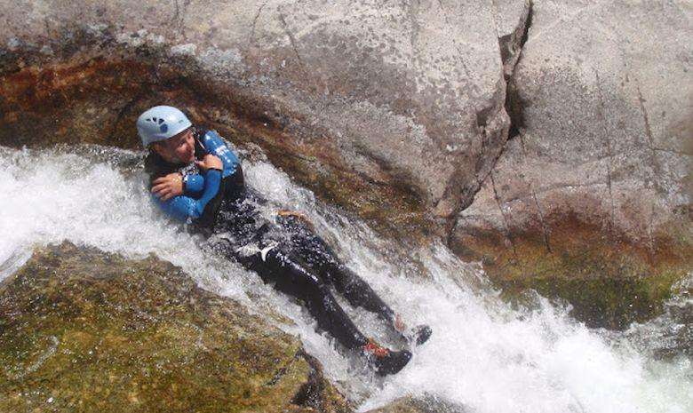 Descente intégrale du canyon du haut Chassezac-6