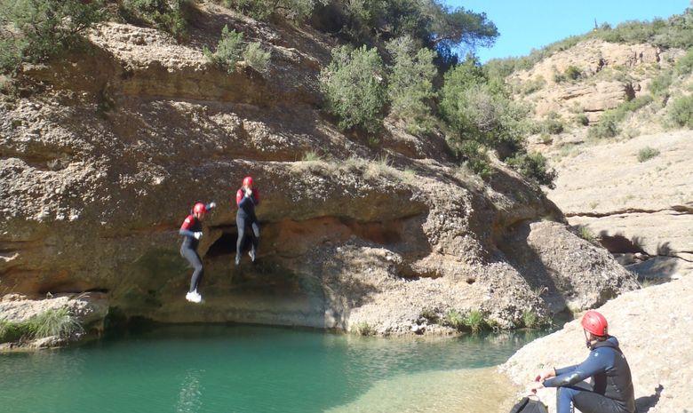 Journée découverte du canyoning en Sierra de Guara-1