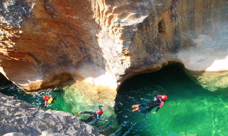 Journée découverte du canyoning en Sierra de Guara-2