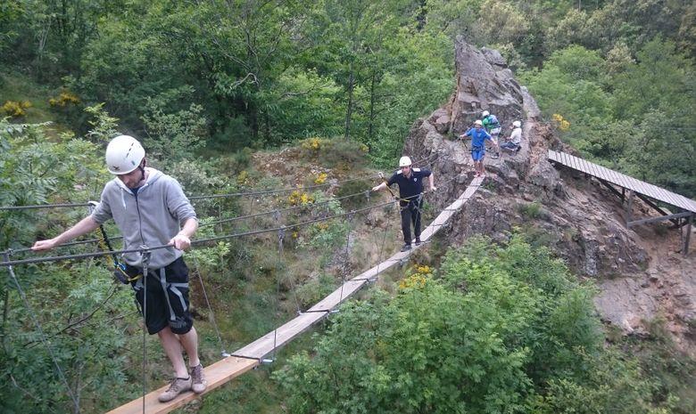 Via Ferrata du Pont du Diable-4