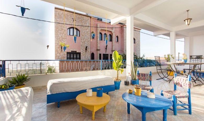 Séjour surf & spa en maison berbère à Tamraght