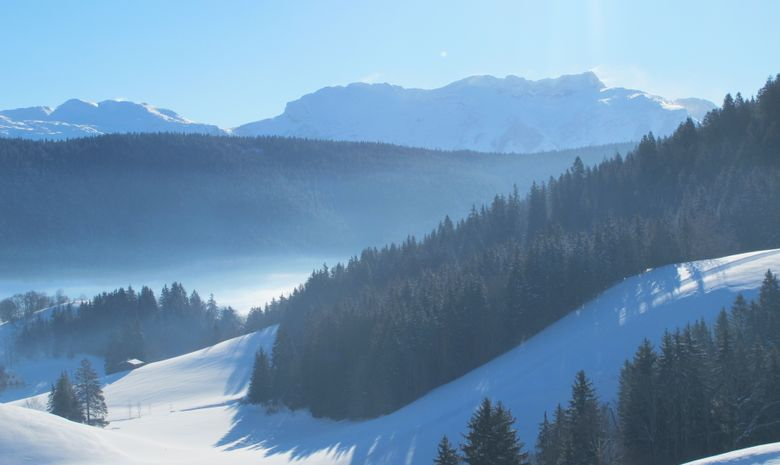 Panorama sur le massif du Vercors