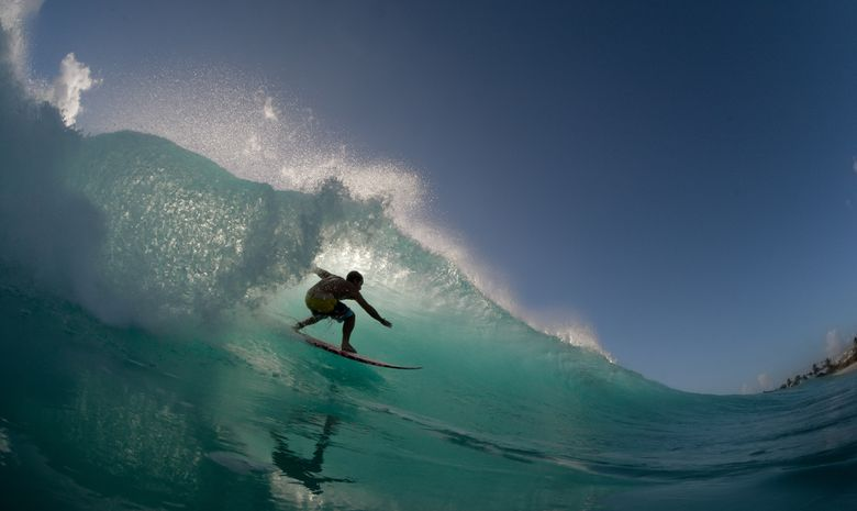 Stage de surf à Saint martin 5