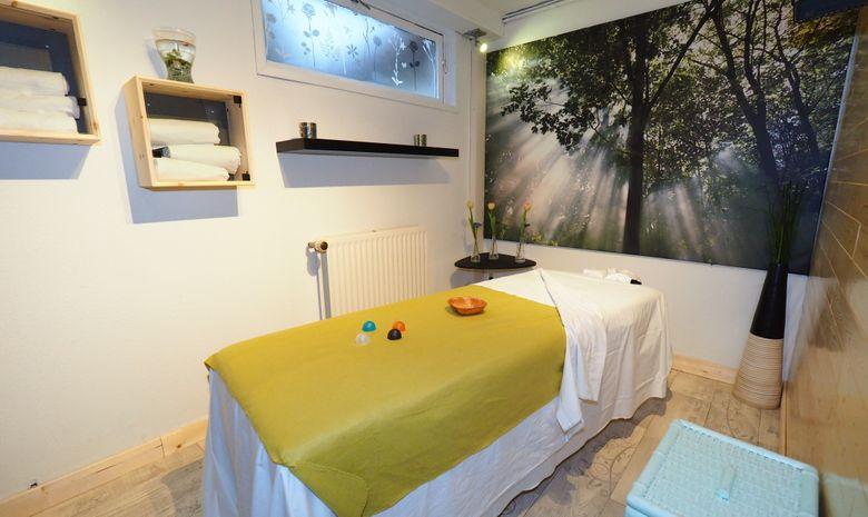 Cabine de massage de l'hôtel
