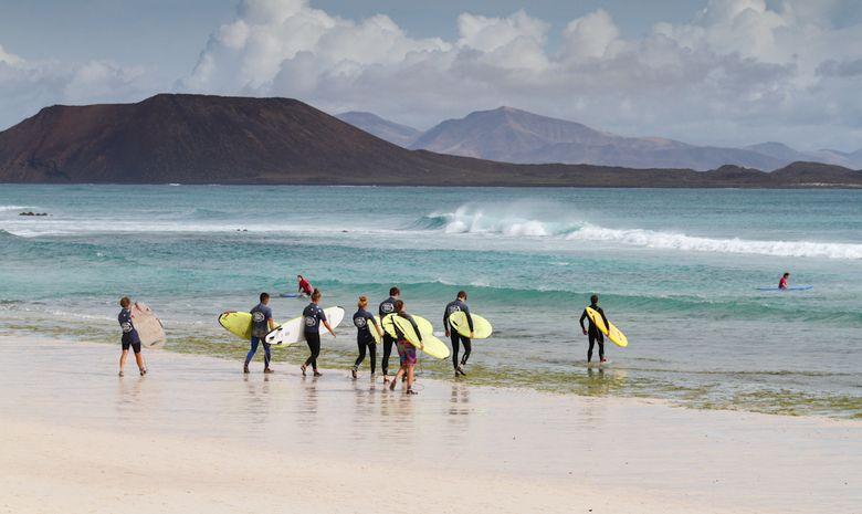 Séjour Surf et Cours d'Espagnol à Fuerteventura