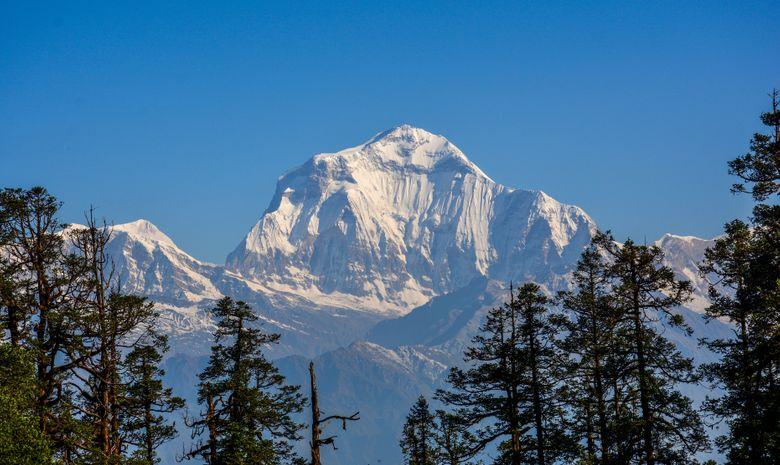 Panorama sur le Dhaulagiri Peak