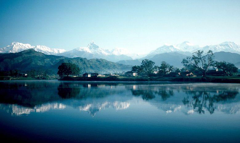 Pokhara et Lac Phewa