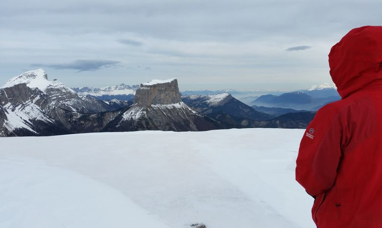 Panorama sur les montagnes du Vercors